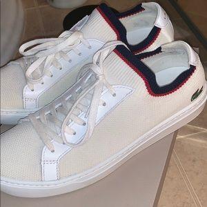 Lacoste la piquee sneakers men's 10.5